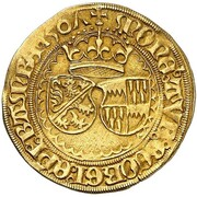 1 goldgulden Georg III de Limpurg – avers