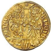 1 goldgulden Georg III de Limpurg – revers