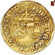1 Goldgulden - Georg III von Limpurg – avers