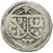 1 Pfennig - Albrecht von Wertheim – avers