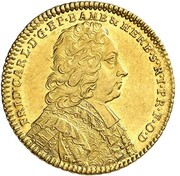 1 ducat Friedrich Karl de Schörnborn – avers