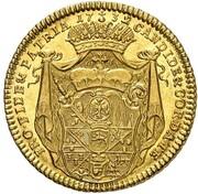 1 ducat Friedrich Karl de Schörnborn – revers