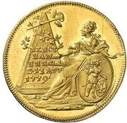 1 ducat Friedrich Ludwig de Erthal – revers