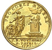 1 ducat Christoph Franz de Buseck – revers