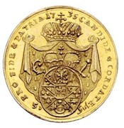 ½ carolin Friedrich Karl de Schönborn – revers
