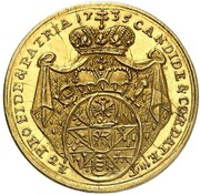 ¼ carolin Friedrich Karl de Schönborn – revers