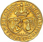 1 ducat Johann Philipp de Gebsattel – avers