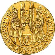 1 ducat Johann Philipp de Gebsattel – revers