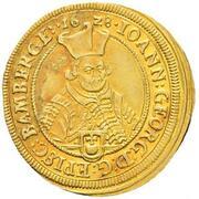 1 ducat Johann Georg II Fuchs de Dornheim – avers
