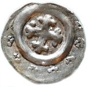 1 pfennig Heinrich I de Bilversheim – avers