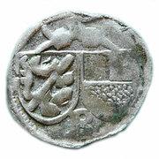 1 pfennig Georg I de Schaumberg – avers