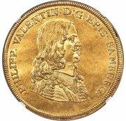 5 ducat Philipp Valentin – avers