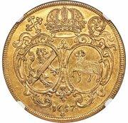 5 ducat Philipp Valentin – revers