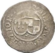 1 münzvereinsschilling Anton von Rotenhan – revers