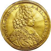5 ducat Lothar Franz de Schönborn – avers