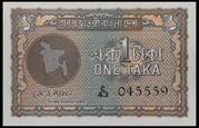 1 Taka – avers