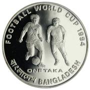 1 taka (Coupe du monde de football USA 1994) – revers