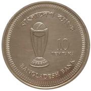 10 taka (coupe du monde de cricket) – revers