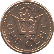 1 Cent - Elizabeth II (Version Légère) – revers