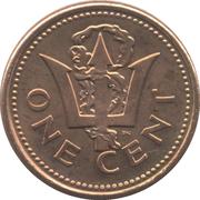 1 cent (Légère) – revers