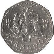 1 Dollar - Elizabeth II (large type) – avers