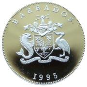 1 Dollar - Elizabeth II (Queen Elizabeth the Queen Mother) - Silver Proof – avers
