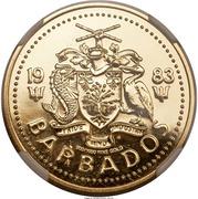 100 Dollars - Elizabeth II (Neptune) – avers