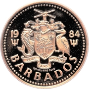 100 Dollars - Elizabeth II (Triton) – avers