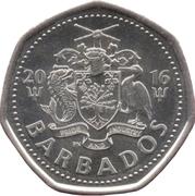 1 Dollar - Elizabeth II (small type; magnetic) – avers