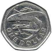 1 dollar  (petit module) -  revers