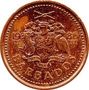 1 cent (Lourde) -  avers