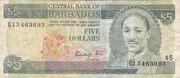 $5.00 Dollars – avers