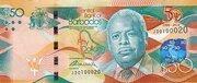 50 Dollars commemorative banknote – avers