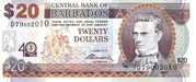 20 Dollars commemorative banknote – avers