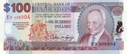 100 dollars commemorative banknote – avers