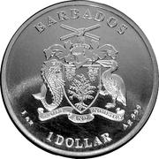 1 dollar (Hippocampe) – avers