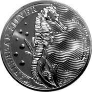 1 dollar (Hippocampe) – revers