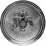 1 dollar (Trident) – avers