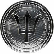 1 dollar (Trident) – revers