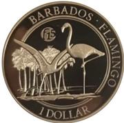 1 Dollar (Flamingo) – revers