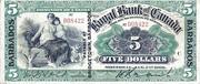 5 Dollars (Royal Bank of Canada) – avers