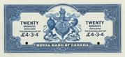 20 Dollars (Royal Bank of Canada) – revers