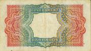 5 Dollars (George VI) – revers