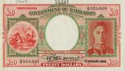 20 Dollars (George VI) – avers