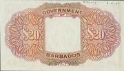20 Dollars (George VI) – revers
