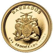 10 Dollars (100th Anniversary USA Peace Dollar) – avers