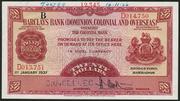 20 Dollars (Barclays Bank) – avers