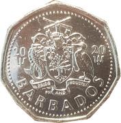 1 dollar (Briller dans le noir) – avers