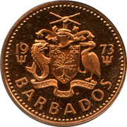 1 cent (Lourde) – avers