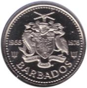 10 cents (Indépendance) – avers